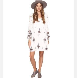 Free People Oxford Embroidered Dress